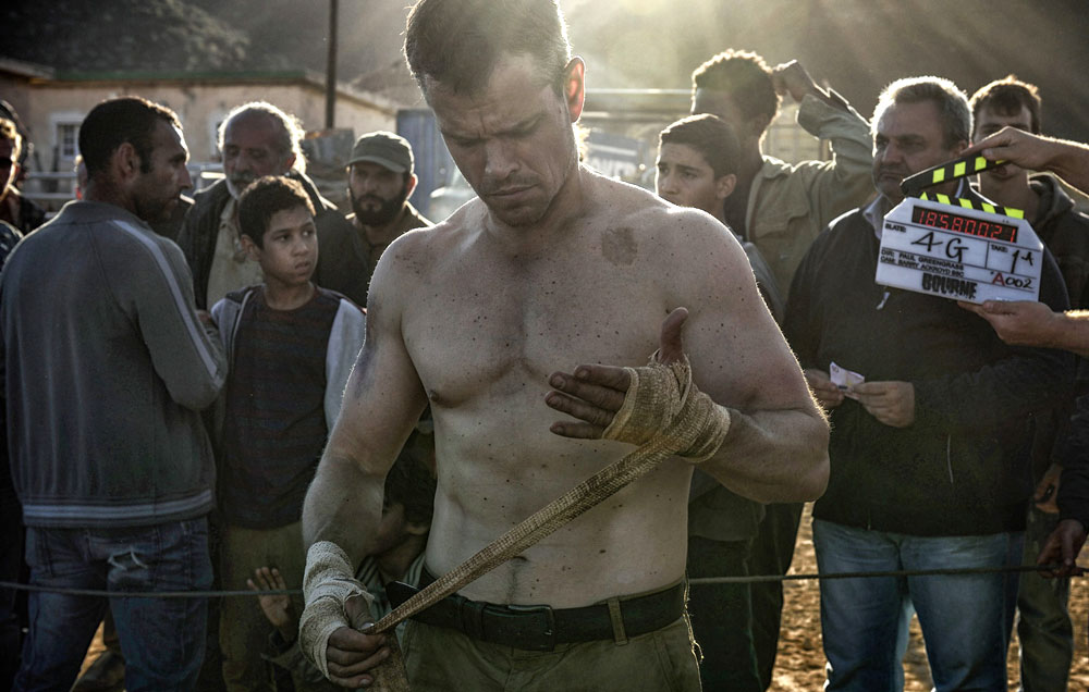 The Jason Bourne Workout