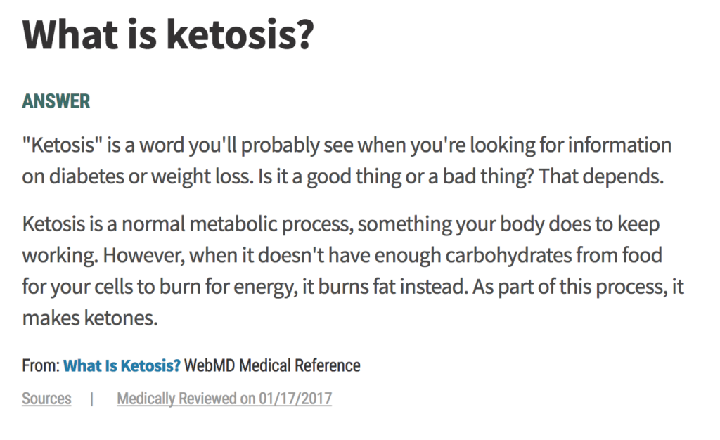 How to get back into Ketosis fast
